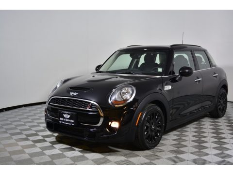 Midnight Black Metallic Mini Hardtop Cooper S 4 Door.  Click to enlarge.