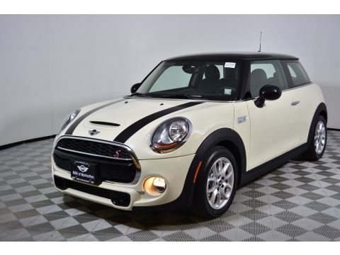 Pepper White Mini Hardtop Cooper S 2 Door.  Click to enlarge.