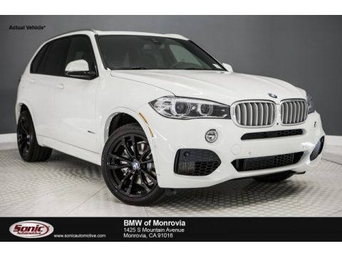 Alpine White BMW X5 xDrive50i.  Click to enlarge.