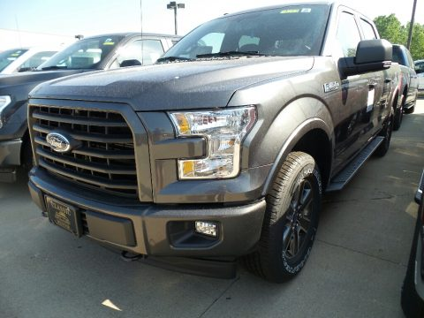 Magnetic Ford F150 XL SuperCrew 4x4.  Click to enlarge.