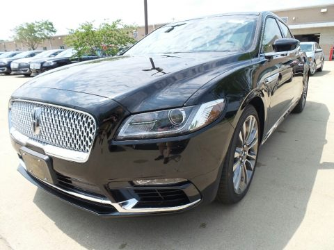Diamond Black Lincoln Continental Reserve AWD.  Click to enlarge.