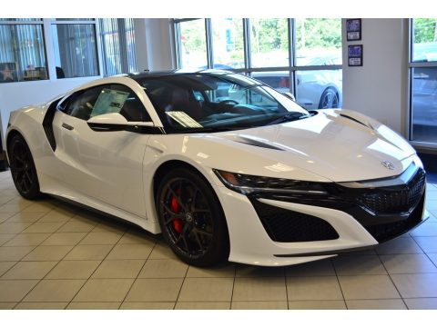 130R White Acura NSX .  Click to enlarge.