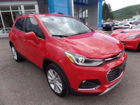 Red Hot Chevrolet Trax Premier AWD.  Click to enlarge.