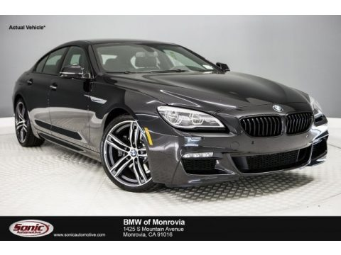 Black Sapphire Metallic BMW 6 Series 640i Gran Coupe.  Click to enlarge.