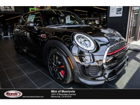 Midnight Black Metallic Mini Hardtop John Cooperworks 2 Door.  Click to enlarge.