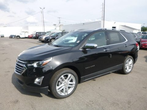 Mosaic Black Metallic Chevrolet Equinox Premier AWD.  Click to enlarge.