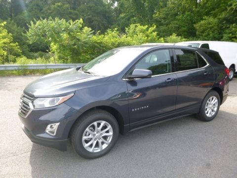 Storm Blue Metallic Chevrolet Equinox LT AWD.  Click to enlarge.