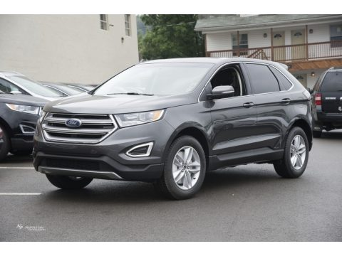 Magnetic Metallic Ford Edge SEL AWD.  Click to enlarge.
