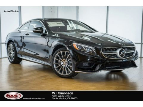 Magnetite Black Metallic Mercedes-Benz S 550 4Matic Coupe.  Click to enlarge.