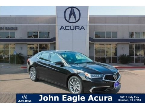 Crystal Black Pearl Acura TLX Sedan.  Click to enlarge.