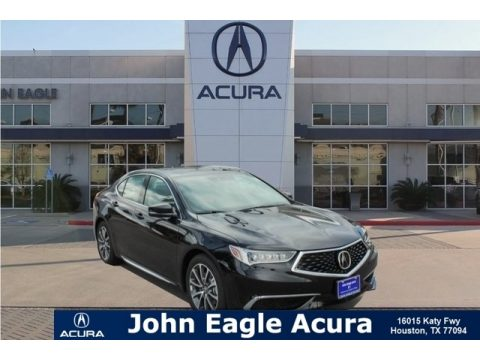 Crystal Black Pearl Acura TLX V6 SH-AWD Technology Sedan.  Click to enlarge.