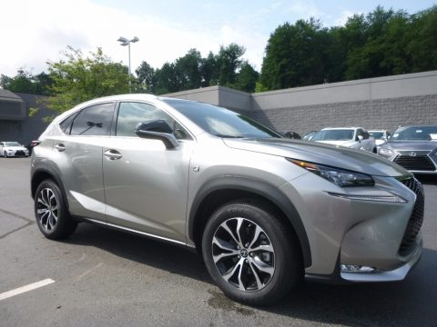 Atomic Silver Lexus NX 200t F Sport AWD.  Click to enlarge.