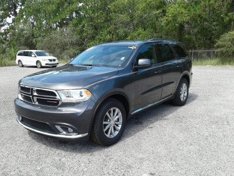 Granite Metallic Dodge Durango SXT.  Click to enlarge.