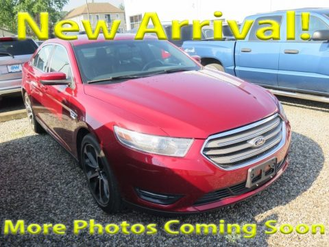Ruby Red Ford Taurus SEL.  Click to enlarge.