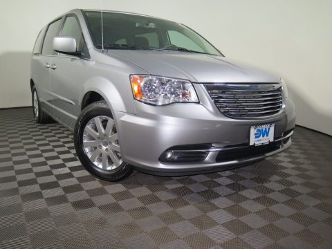 Billet Silver Metallic Chrysler Town & Country Touring.  Click to enlarge.