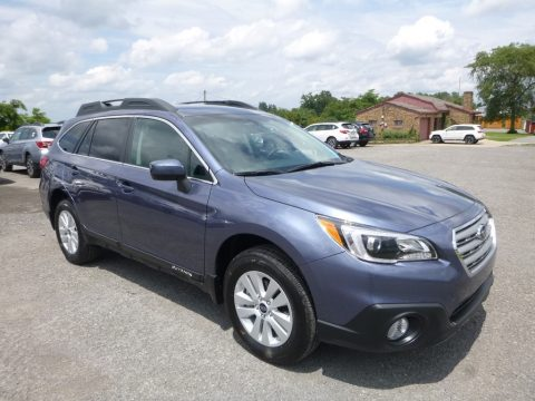 Twilight Blue Metallic Subaru Outback 2.5i Premium.  Click to enlarge.