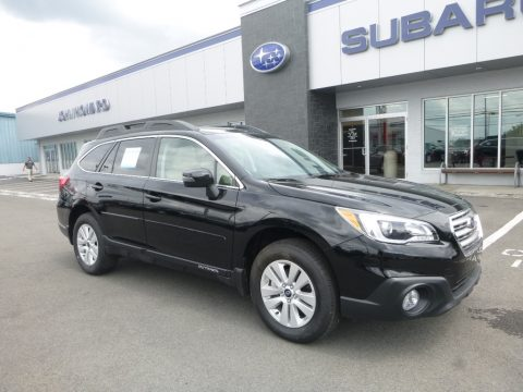 Crystal Black Silica Subaru Outback 2.5i Premium.  Click to enlarge.