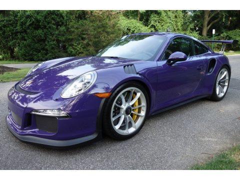 Ultraviolet Porsche 911 GT3 RS.  Click to enlarge.