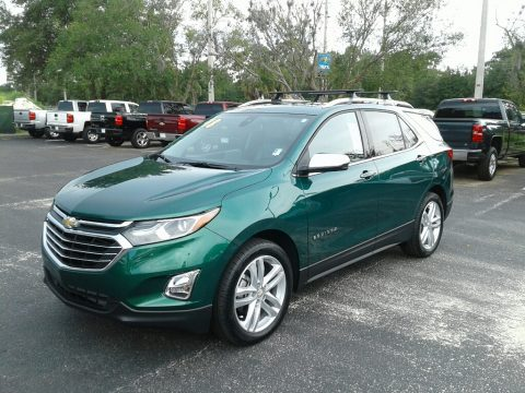Ivy Metallic Chevrolet Equinox Premier.  Click to enlarge.
