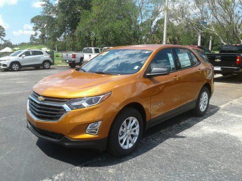 Orange Burst Metallic Chevrolet Equinox LS.  Click to enlarge.