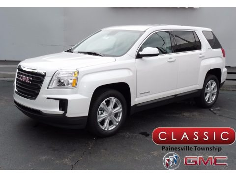 White Frost Tricoat GMC Terrain SLE.  Click to enlarge.