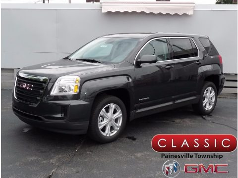 Graphite Gray Metallic GMC Terrain SLE.  Click to enlarge.