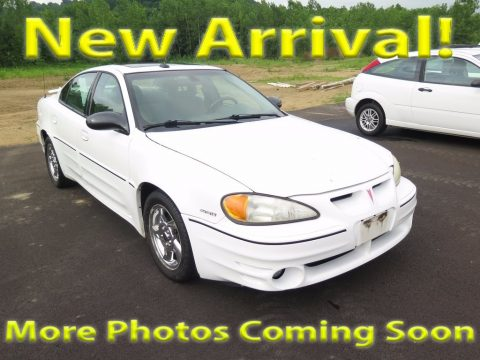 Summit White Pontiac Grand Am GT Sedan.  Click to enlarge.