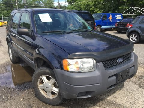 True Blue Metallic Ford Escape XLS V6 4WD.  Click to enlarge.