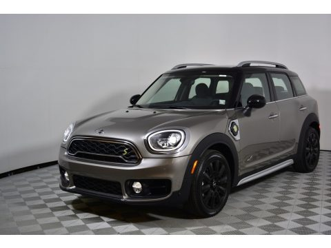 Melting Silver Metallic Mini Countryman Cooper S ALL4.  Click to enlarge.