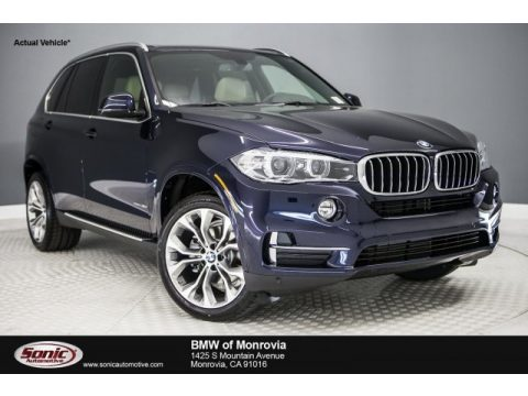 Imperial Blue Metallic BMW X5 sDrive35i.  Click to enlarge.