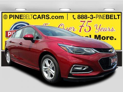 Cajun Red Tintcoat Chevrolet Cruze LT.  Click to enlarge.