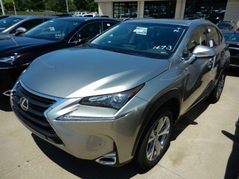 Atomic Silver Lexus NX 200t AWD.  Click to enlarge.