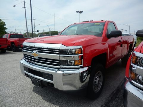 Chevrolet Silverado 2500HD Work Truck Regular Cab 4x4