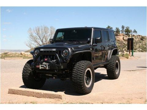 Granite Metallic Jeep Wrangler Unlimited Rubicon 4x4.  Click to enlarge.