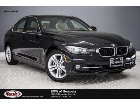 Black Sapphire Metallic BMW 3 Series 330i Sedan.  Click to enlarge.