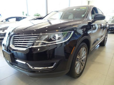 Diamond Black Lincoln MKX Reserve AWD.  Click to enlarge.