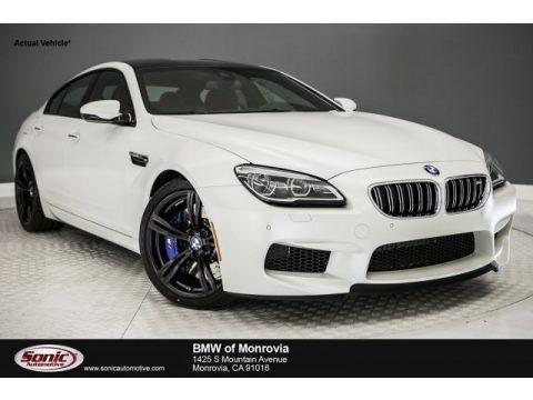 Frozen Brilliant White Metallic BMW M6 Gran Coupe.  Click to enlarge.