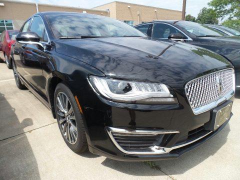 Black Velvet Lincoln MKZ Premier.  Click to enlarge.