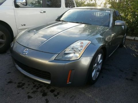 Chrome Silver Metallic Nissan 350Z Touring Coupe.  Click to enlarge.