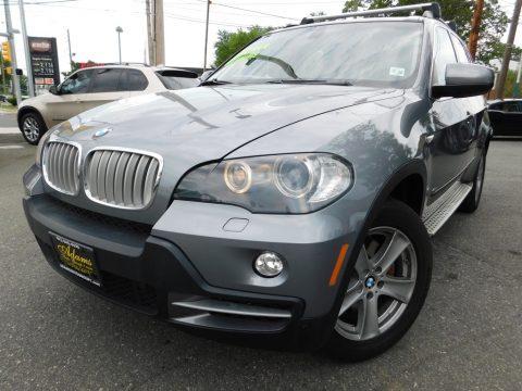 Platinum Bronze Metallic BMW X5 4.8i.  Click to enlarge.