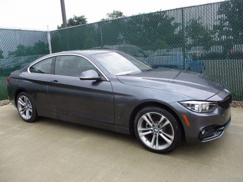 Mineral Grey Metallic BMW 4 Series 430i xDrive Coupe.  Click to enlarge.