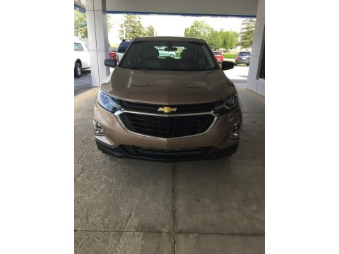 Sandy Ridge Metallic Chevrolet Equinox LS.  Click to enlarge.