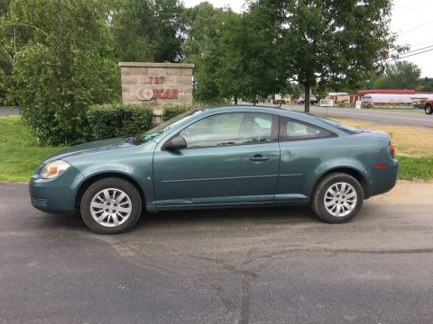 Imperial Blue Metallic Chevrolet Cobalt LS Coupe.  Click to enlarge.
