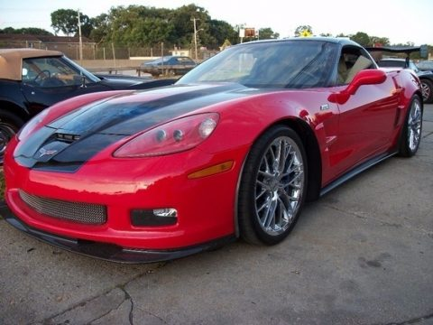 Torch Red Chevrolet Corvette ZR1.  Click to enlarge.