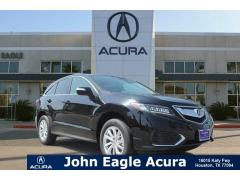 Crystal Black Pearl Acura RDX FWD Technology.  Click to enlarge.