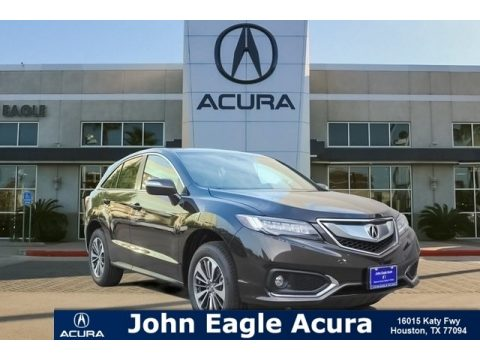 Crystal Black Pearl Acura RDX AWD Advance.  Click to enlarge.