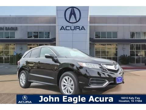 Crystal Black Pearl Acura RDX AWD.  Click to enlarge.