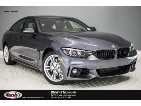 Mineral Grey Metallic BMW 4 Series 440i Gran Coupe.  Click to enlarge.