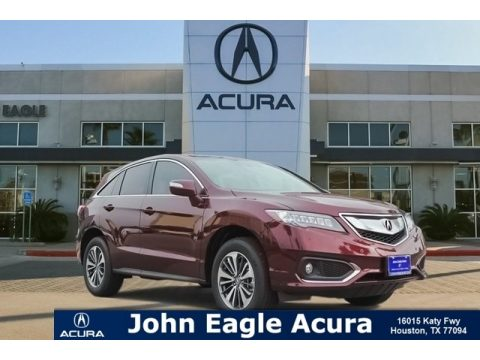 Basque Red Pearl II Acura RDX FWD Advance.  Click to enlarge.