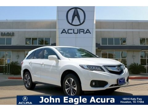White Diamond Pearl Acura RDX FWD Advance.  Click to enlarge.